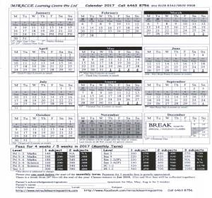Science-Math-Class-Schedule