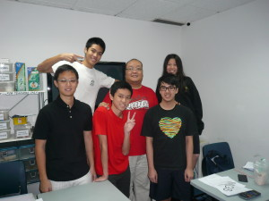 Photo of physics tuition class