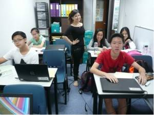 Secondary Maths Tuition Class Photo