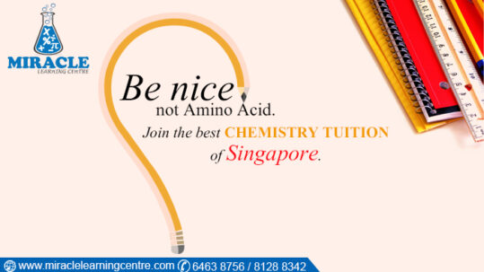 H2 Chemistry Tuition